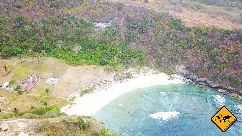 Bali Strände Atuh Beach Nusa Penida Meersicht