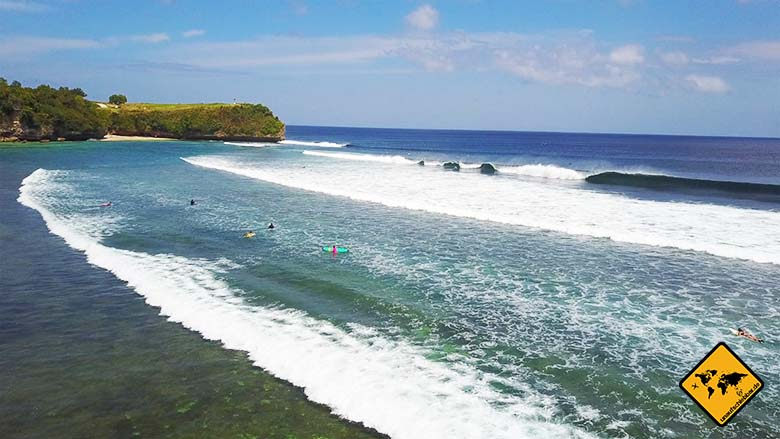 Bali Strände Balangan Beach