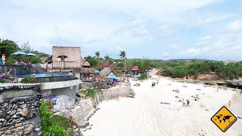 Bali Strände Dream Beach Nusa Lembongan