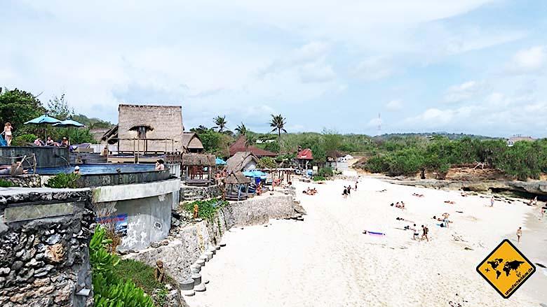 Bali Tagesausflüge Nusa Lembongan Dream Beach