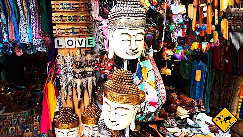 Bali Tagesausflüge Ubud Market