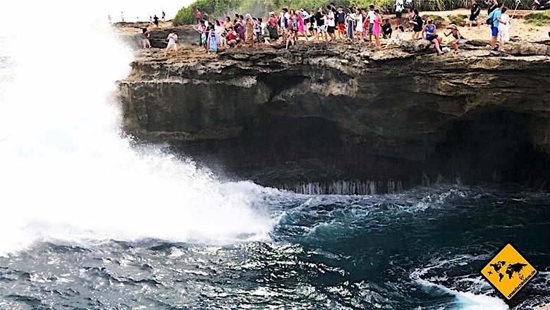 Bali Tagestouren Nusa Lembongan Devils Tear