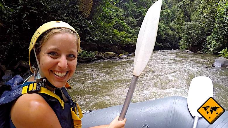 Bali Tagestouren Rafting Ayung River
