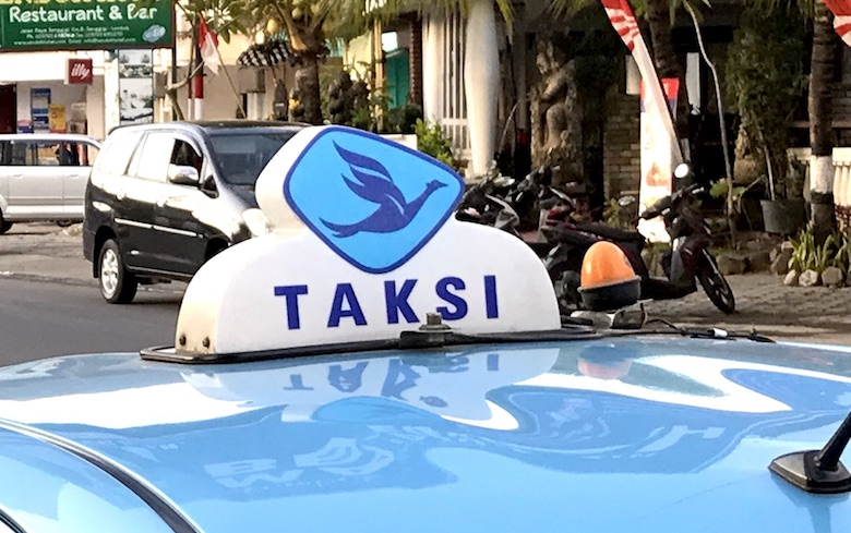 Bali Taxi Blue Bird
