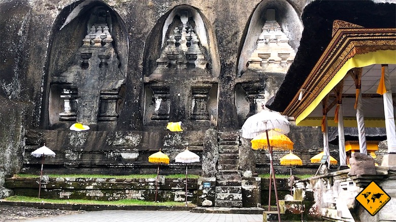 Bali Tempelschirm