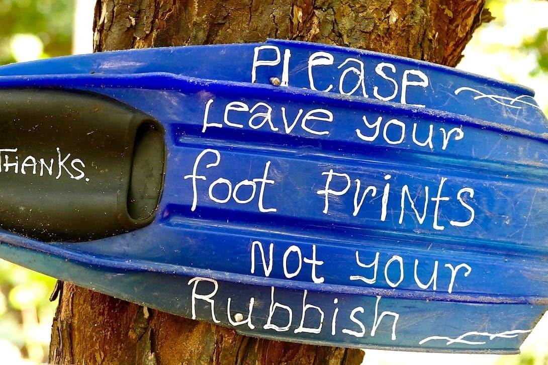Bali Tourismus Steuer gegen Müllverschmutzung