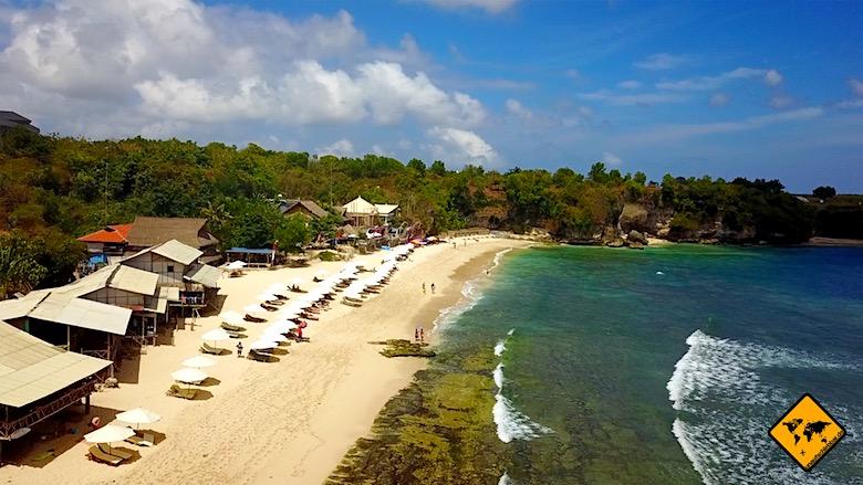 Bali Unternehmungen Balangan Beach