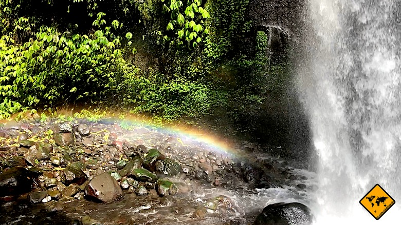 Bali Unternehmungen Wasserfälle