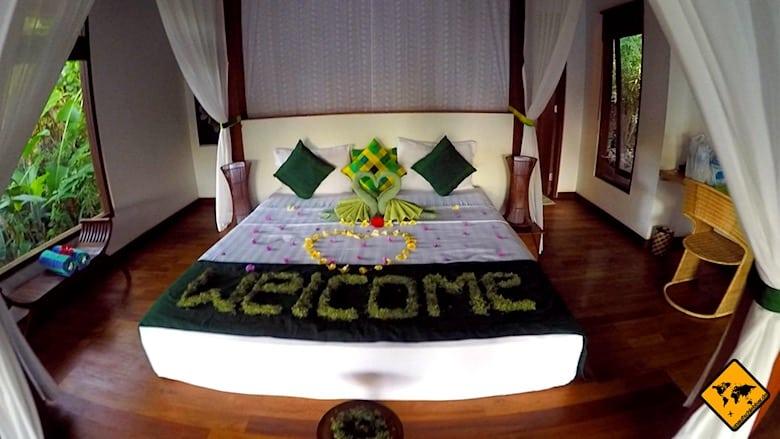Bali Urlaub Kosten Luxus-Unterkunft