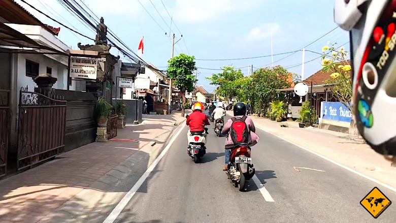 Bali Urlaub Kosten Roller