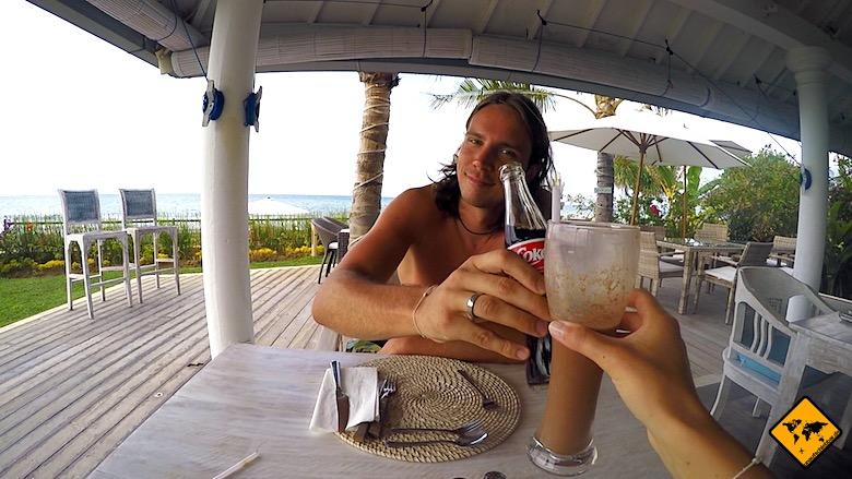 Bali Urlaub Kosten Trinken
