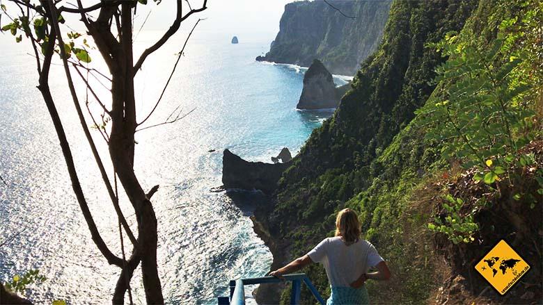 Bali Urlaub Tipps Steilküste Nusa Penida