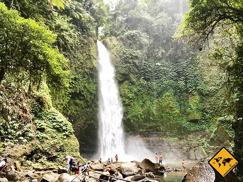 Bali Wasserfälle Nungnung Waterfall