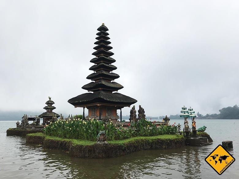 Bali Wassertempel Ulun Danu