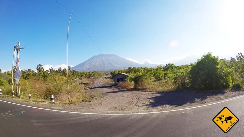 Bali gefährlich Vulkan
