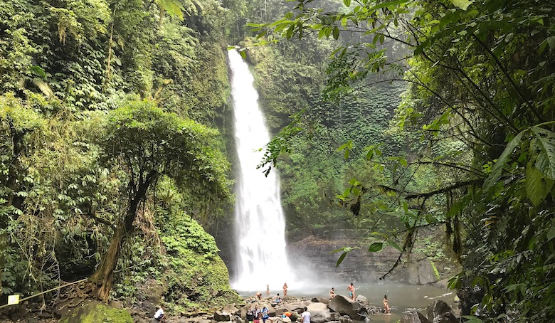 Bali interessante Orte Nungnung Waterfall