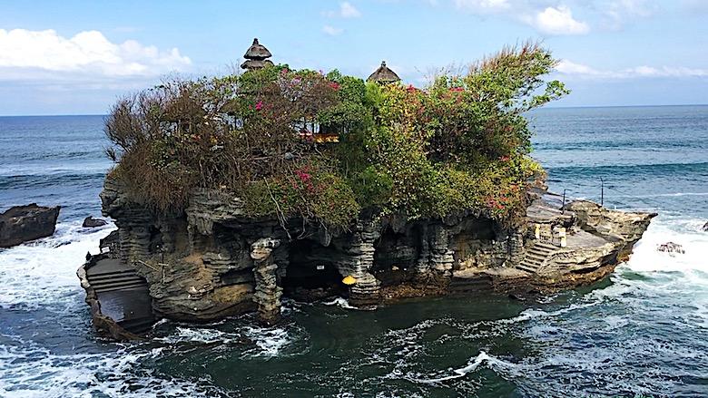 Bali interessante Orte Tanah Lot Tempel