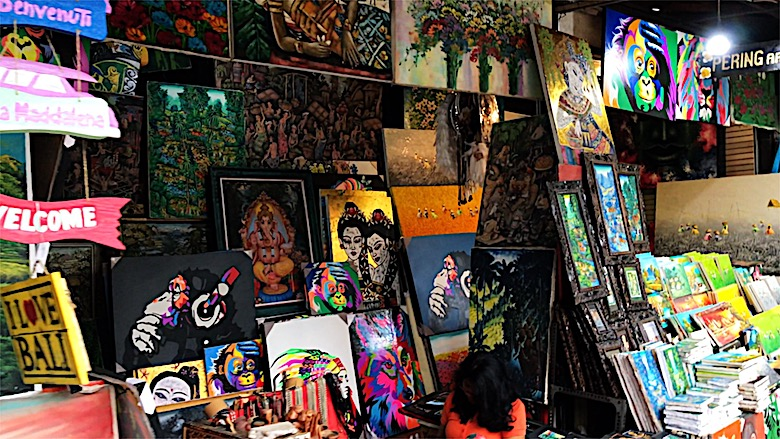 Bali interessante Orte Ubud Market