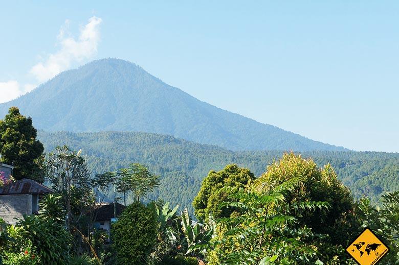 Bali oder Lombok Gunung Agung