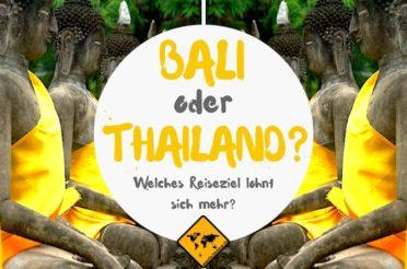 Bali oder Thailand – Welches Reiseziel lohnt sich mehr?