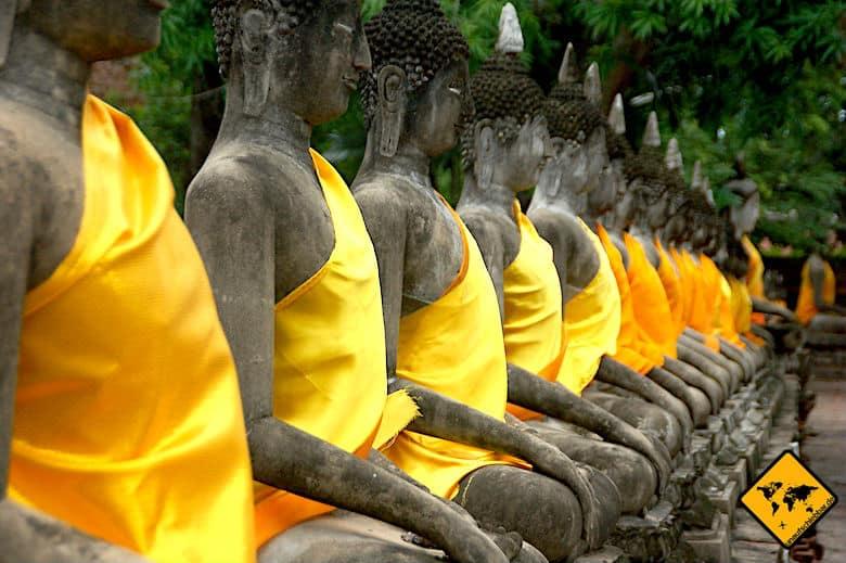 Bali oder Thailand Buddha Kultur