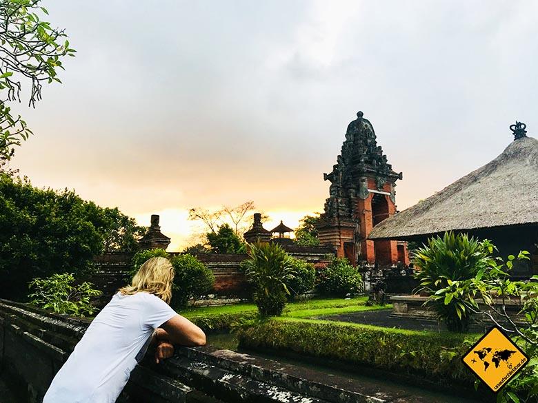 Bali oder Thailand Hindu-Tempel