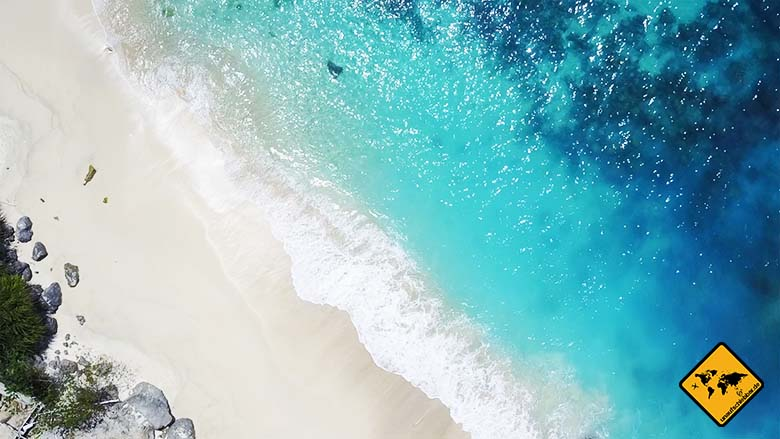 Bali schönste Strände türkis-blau