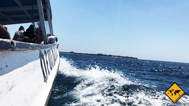 Bali und Lombok Boot Gilis