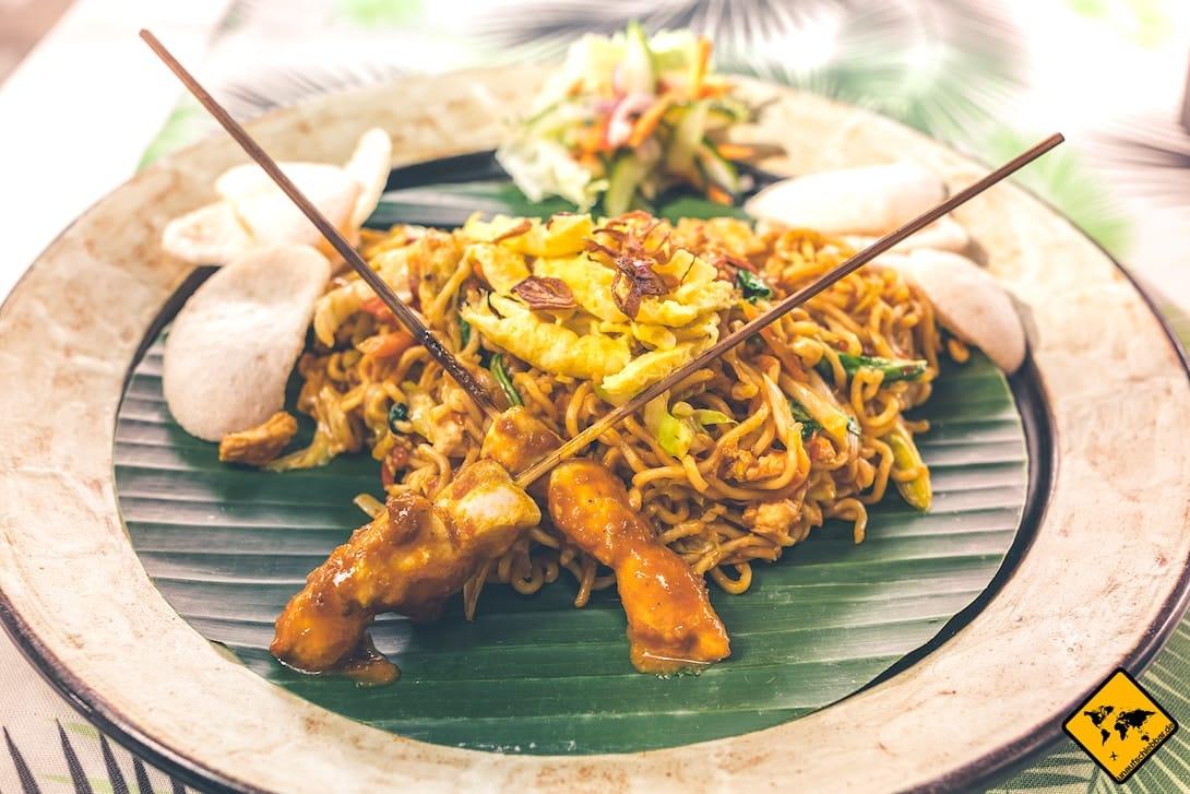 Balinesisch kochen Bami Goreng