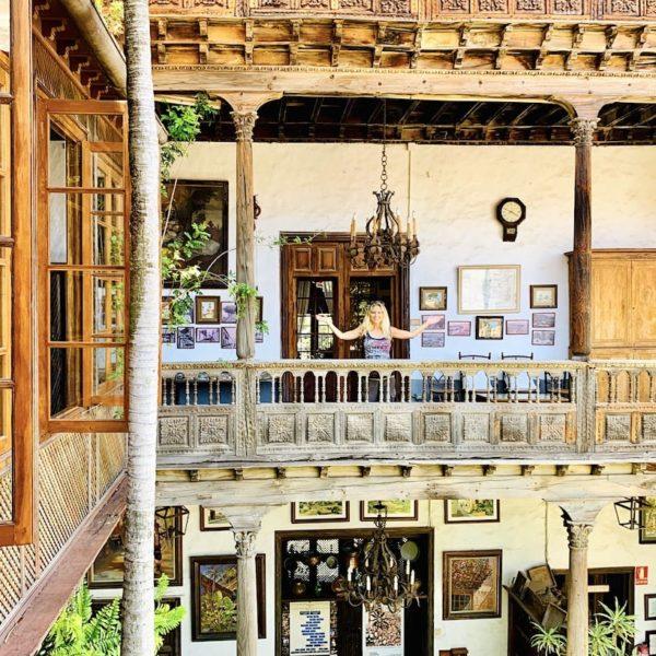 Balkon Innenhof Casa de los Balcones