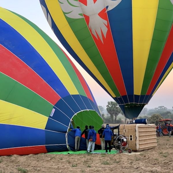 Ballonflug Bagan Heißluftballons