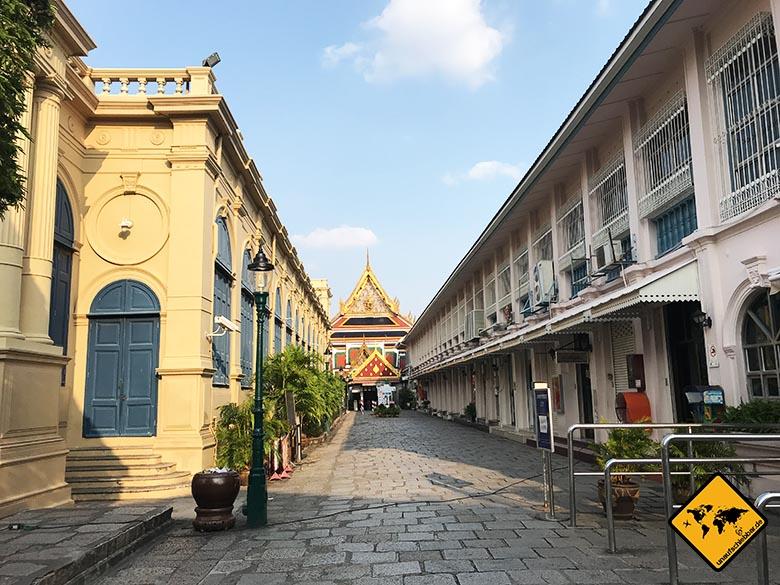 Bangkok Königspalast Eingang