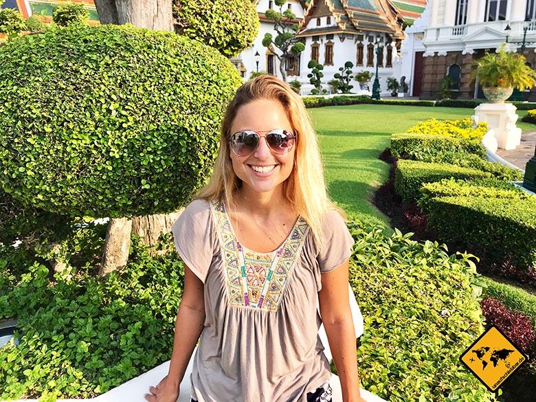 Bangkok Königspalast Garten