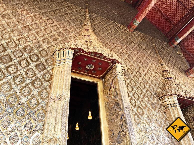 Bangkok Königspalast prunkvolle Türen
