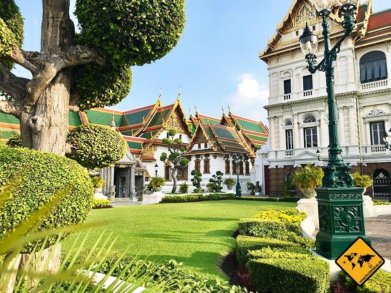 Bangkok Palast Garten