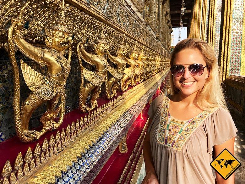 Bangkok Palast Kapelle Terrasse