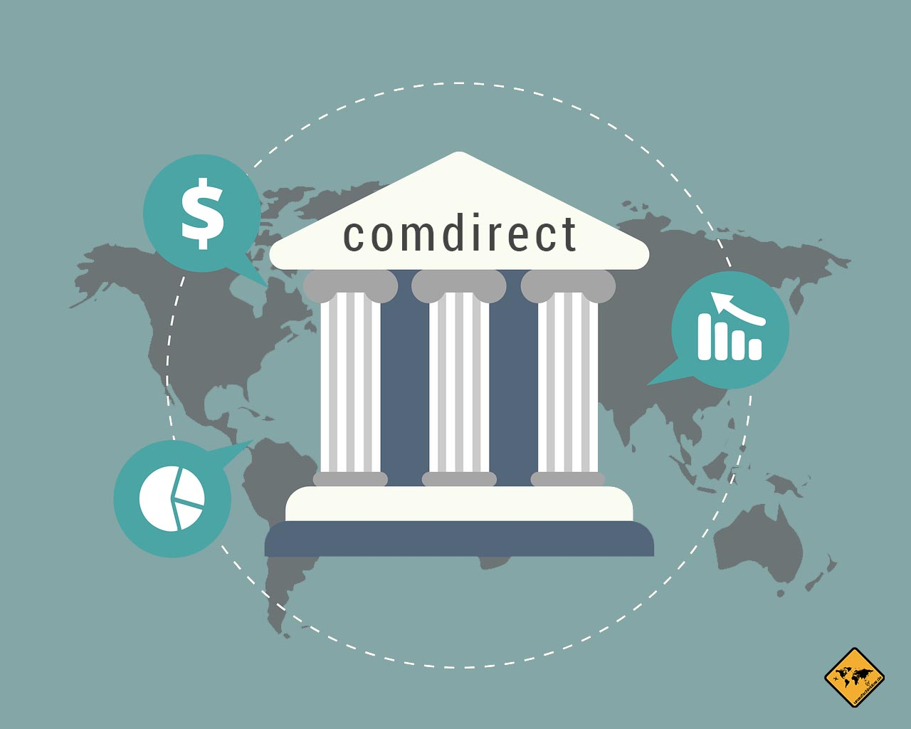 Bankkonto Kreditkarte digitale Nomaden comdirect