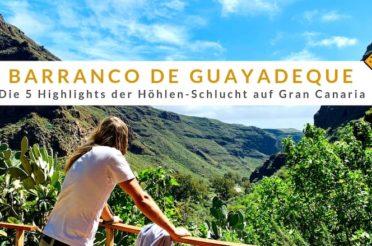 Barranco de Guayadeque (Gran Canaria): Die 5 Highlights der Höhlen-Schlucht