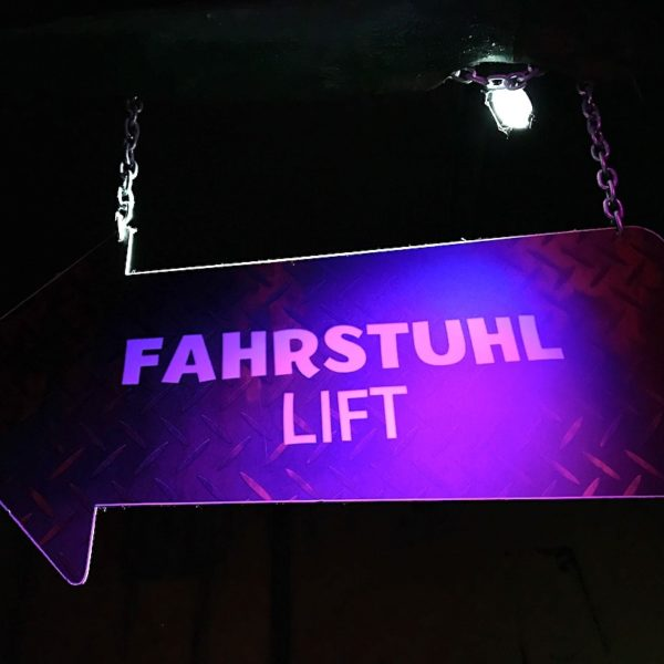 Barrierefreiheit Fahrstuhl Sea Life