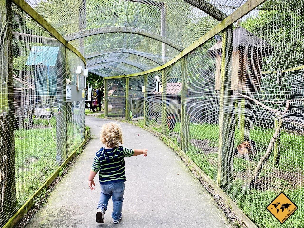 Barrierefreiheit Tierpark Werdum