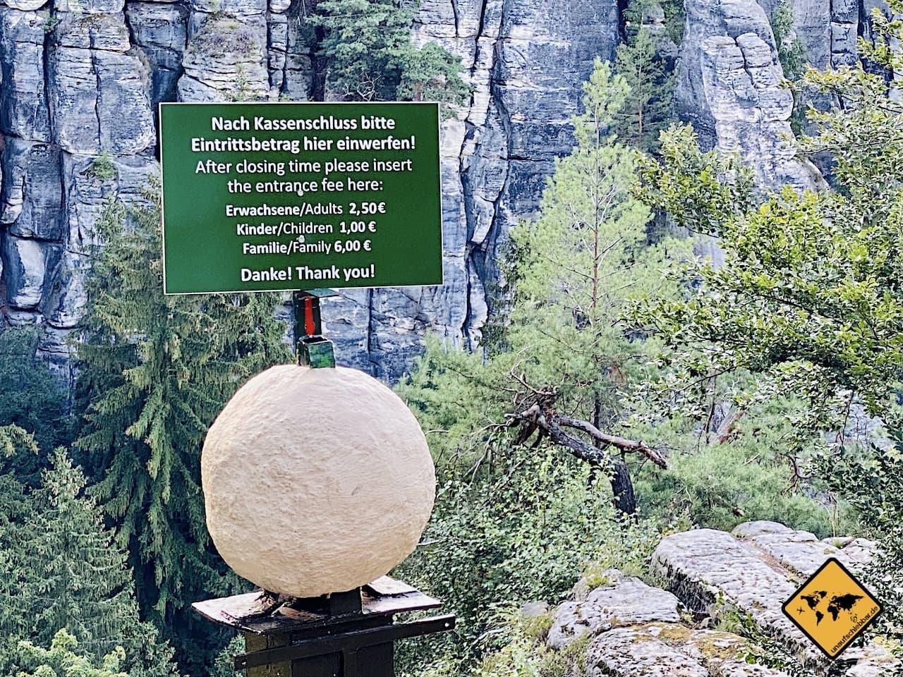 Basteibrücke Eintritt Öffnungszeiten Felsenburg Neurathen