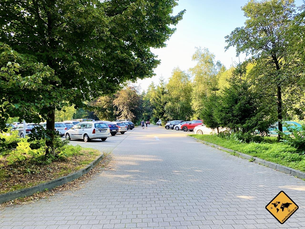 Basteibrücke Parkplatz