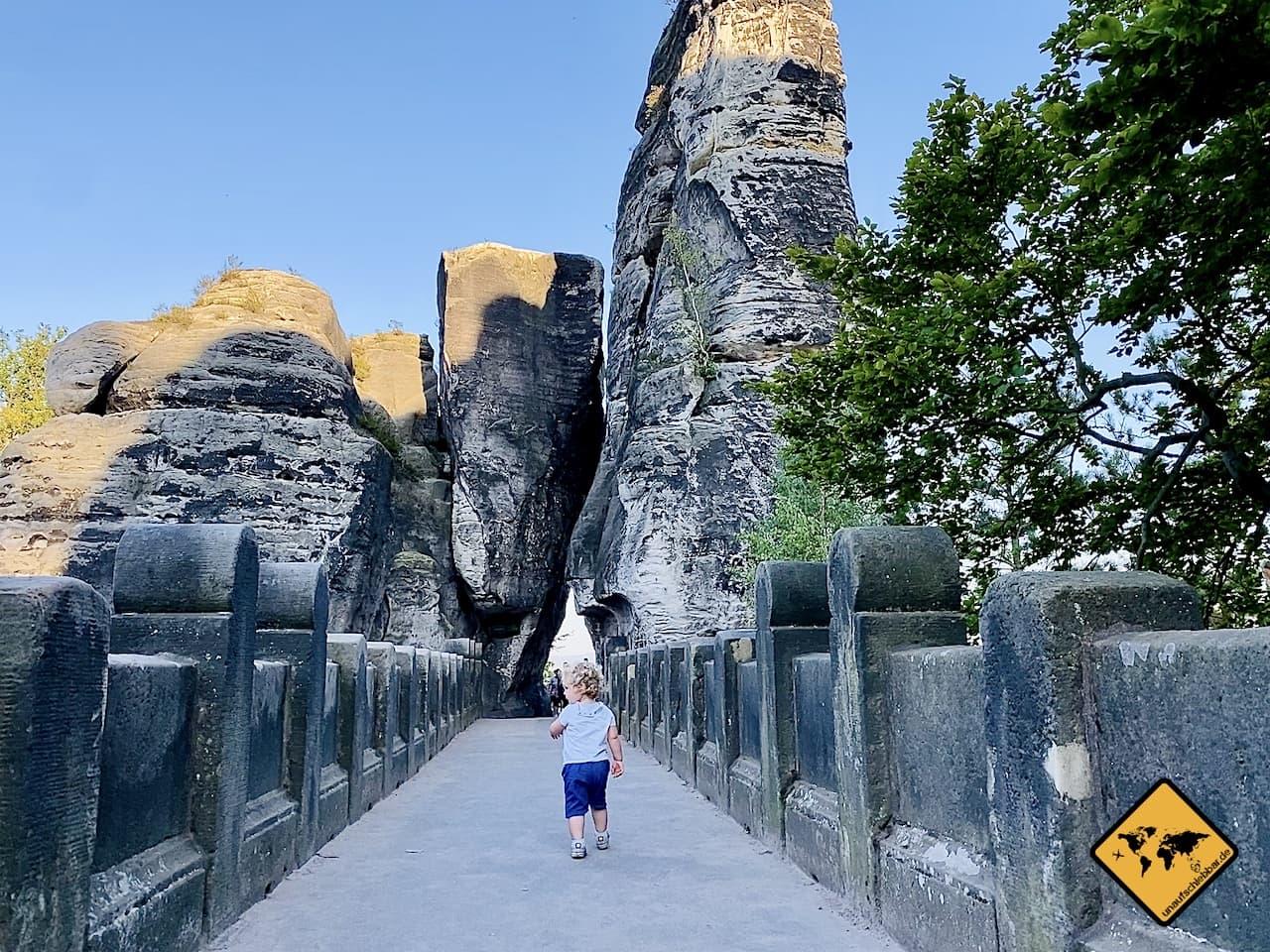 Basteibrücke außerhalb Stoßzeiten