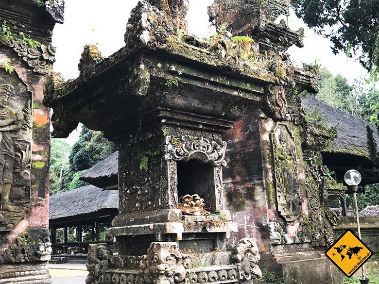 Batukaru Temple Bali Eingangsbereich