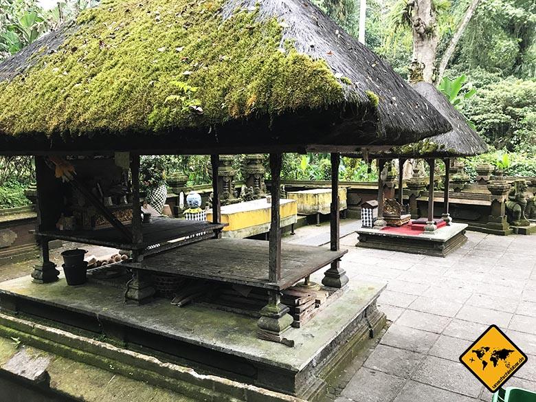 Batukaru Temple Innenhof