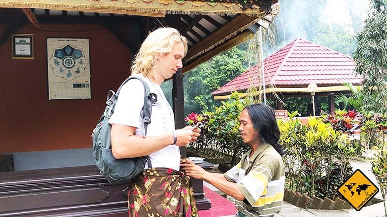 Batukaru Temple Sarong