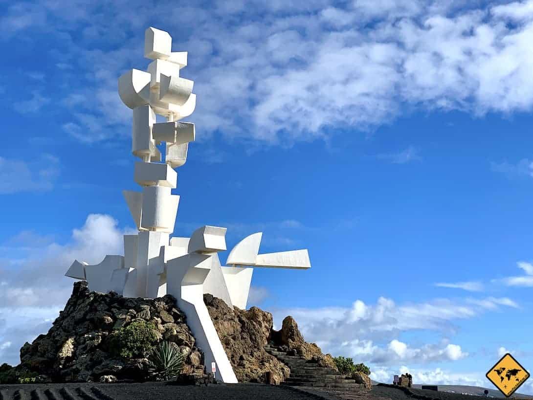 Bauern-Denkmal Lanzarote Monumento al Campesino