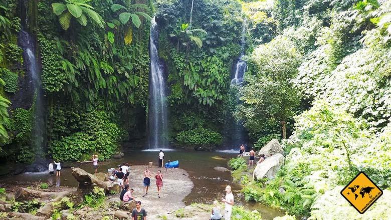 Benang Stockel Wasserfall Lombok