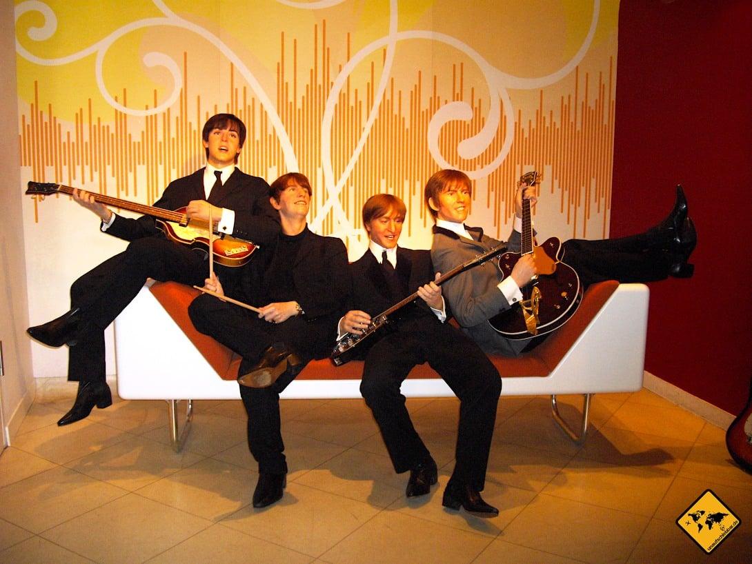 Berlin Madame Tussauds Beatles Wachsfiguren