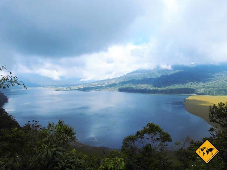 Beste Reisezeit Bali Norden Regen Gebirge